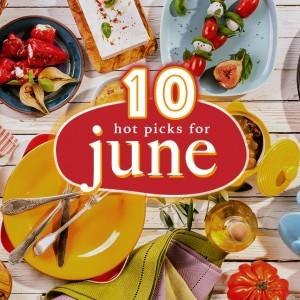 eatigoers' top 10 picks for the month of June!