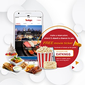 Hundreds of movie tickets up for grabs!