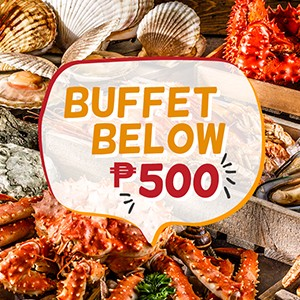 Buffet Below P500