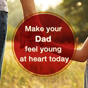 Let your dad have his day!