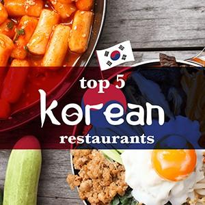 Top 5 Korean Restaurants