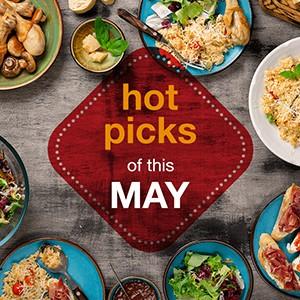 Hot Picks of This May