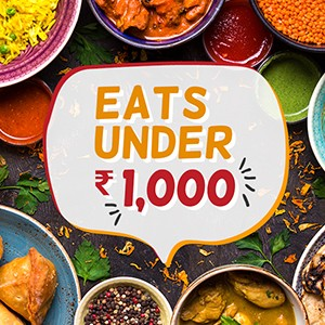 8 best places to eat under ₹1000..!