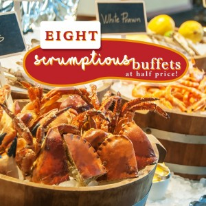 8 full buffet spreads at half the price, check them out now!