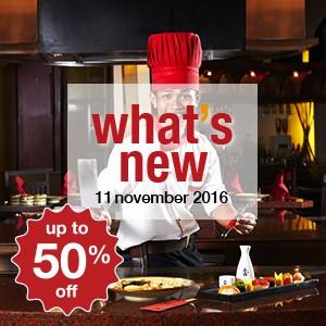 7 new restaurants this week! (11 November)