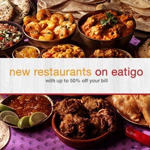 Check out the new restaurants on eatigo