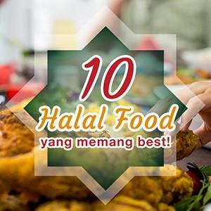 10 halal food yang memang best!