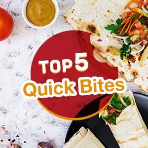 Top 5 Quick bites on eatigo