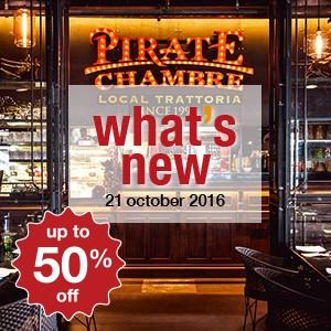 8 ร้านอาหารใหม่สัปดาห์นี้ (21 ตุลาคม)