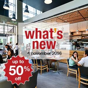 14 new restaurants this week! (4 November)