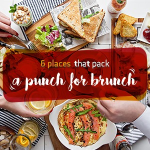 6 places that pack a punch for brunch!