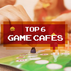 Top 6 Game Cafes