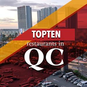 Top 10 restaurants in QC!