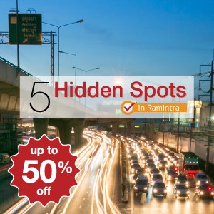 5 hidden spots in Ramintra where you can get up to 50% off!
