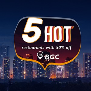 5 restaurants you can't miss in BGC