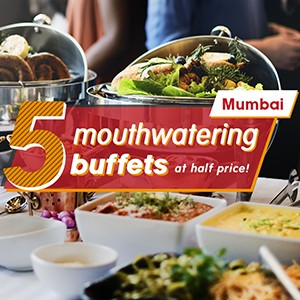 5 full buffet spreads at half the price in Mumbai, check them out now!