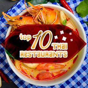 Top 10 Thai restaurants