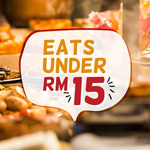 Top eats under RM15