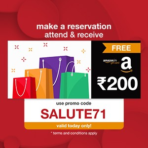 Free Amazon voucher worth ₹200 when you reserve now!