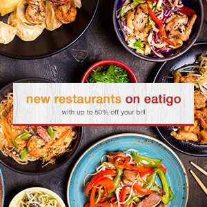10 new restaurants to try on eatigo this week!