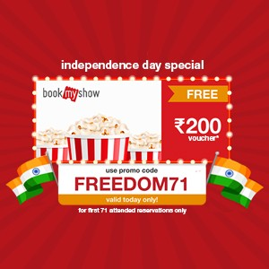 Free BookMyShow voucher worth ₹200 when you reserve now!