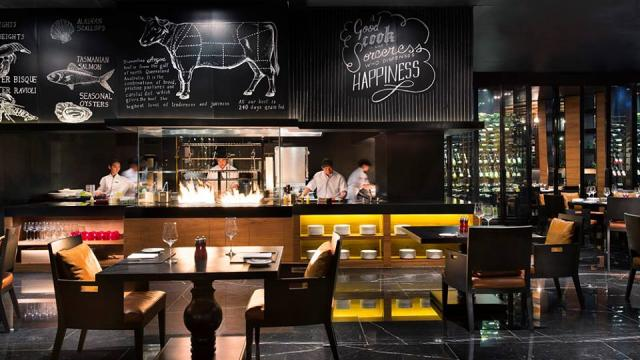 The District Grill Room and Bar - Bangkok Marriott Hotel Sukhumvit ...