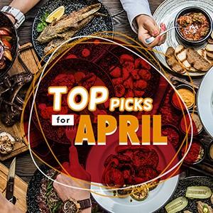 Top Picks for April!