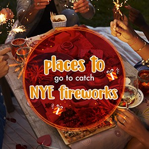 Places to Go to Catch NYE Fireworks