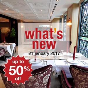 5 new restaurants this week! (21 January)