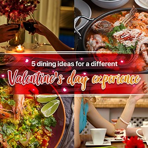 5 dining ideas for a different Valentine's day experience