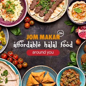Jom Makan: Affordable Halal Food Around You