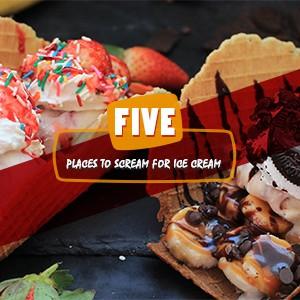 We all scream for ice cream..!