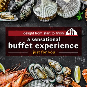 Delight from Start to Finish: A Sensational Buffet Experience just for you
