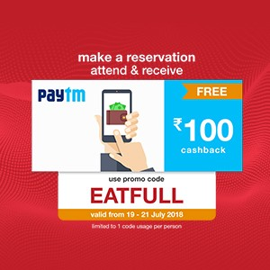 Get ₹100 Paytm voucher on your reservation from 19-21 Julyl!!