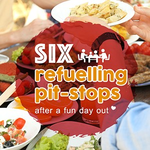 6 refuelling pit-stops after a fun day out
