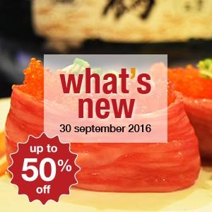 15 ร้านอาหารใหม่สัปดาห์นี้ (30 กันยายน)