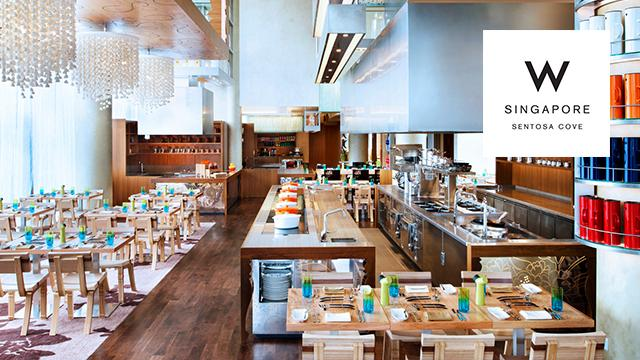 The Kitchen Table W Singapore Sentosa Cove Discounts Up